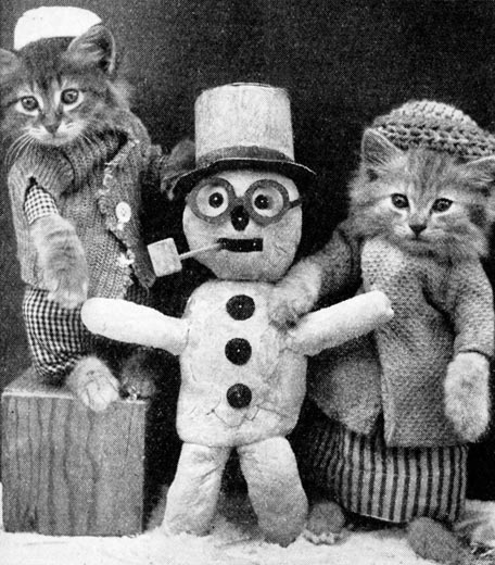 snowman-with-cats-9